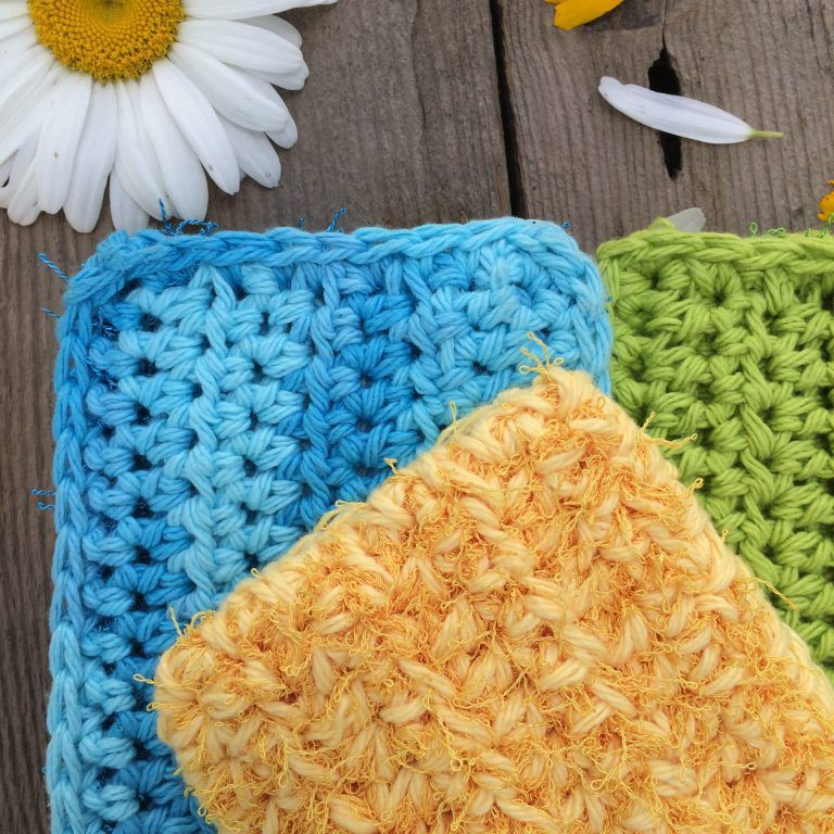 Crochet Kitchen Scrubby Pattern: Quick and easy pattern ...