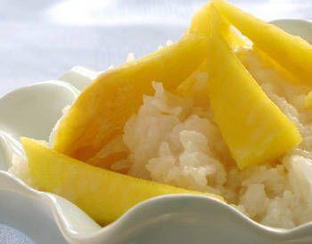 Mango coconut sticky rice sounds nice!!
