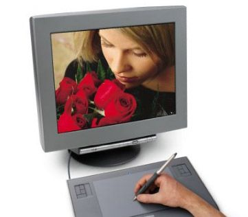 Amazon.com : Wacom Intuos3 4 x 6-Inch Wide Format Pen Tablet (PTZ431W) : Computer Digital Tablets : Electronics