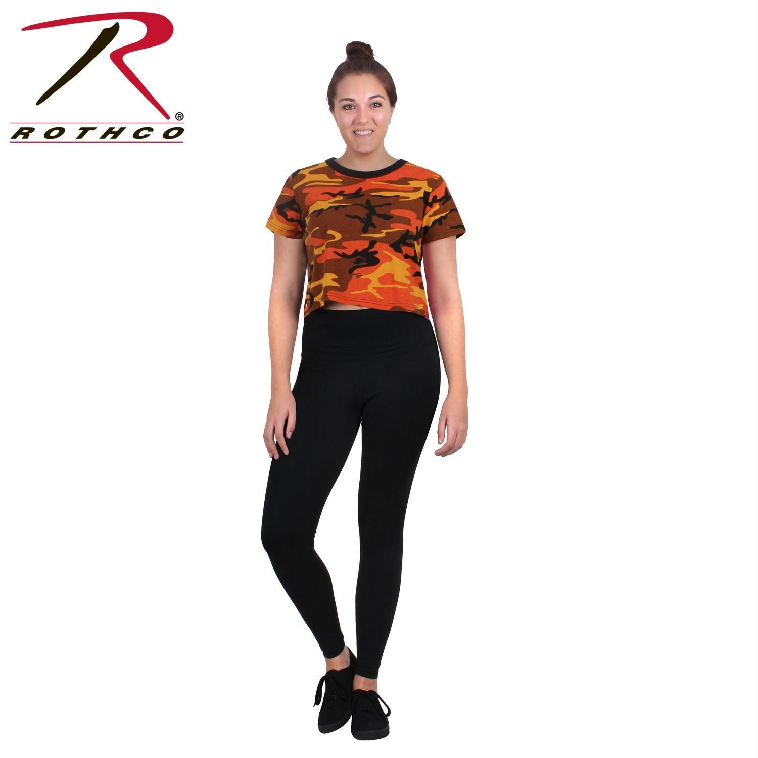 46a5e84ea1d Rothco Womens Camo Crop Top | Products | Camo, Crop tops, Tops