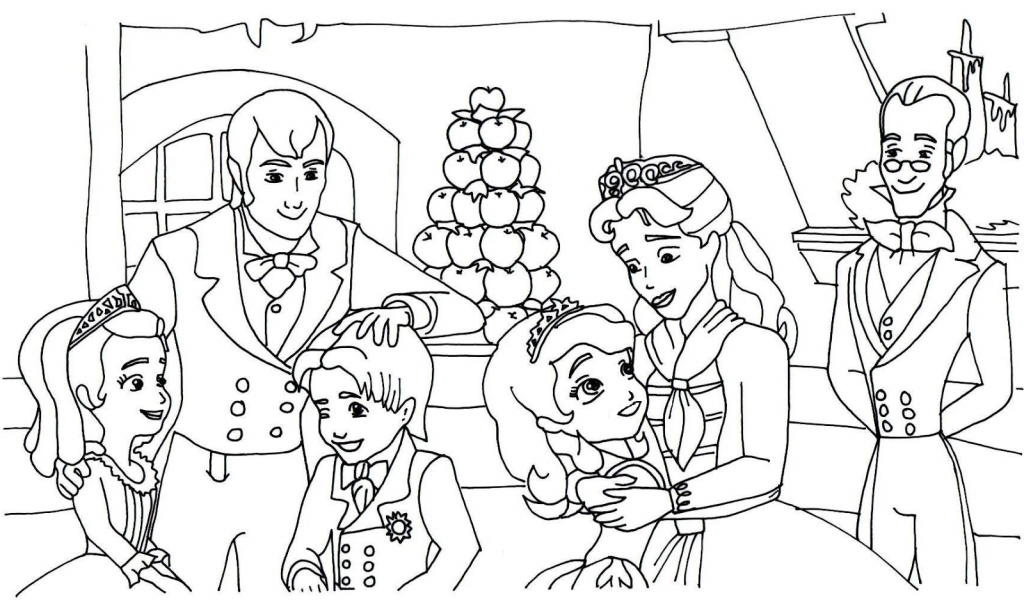 Sofia The First Coloring Pages Best Coloring Pages For Kids Family Coloring Pages Mom Coloring Pages Coloring Pages