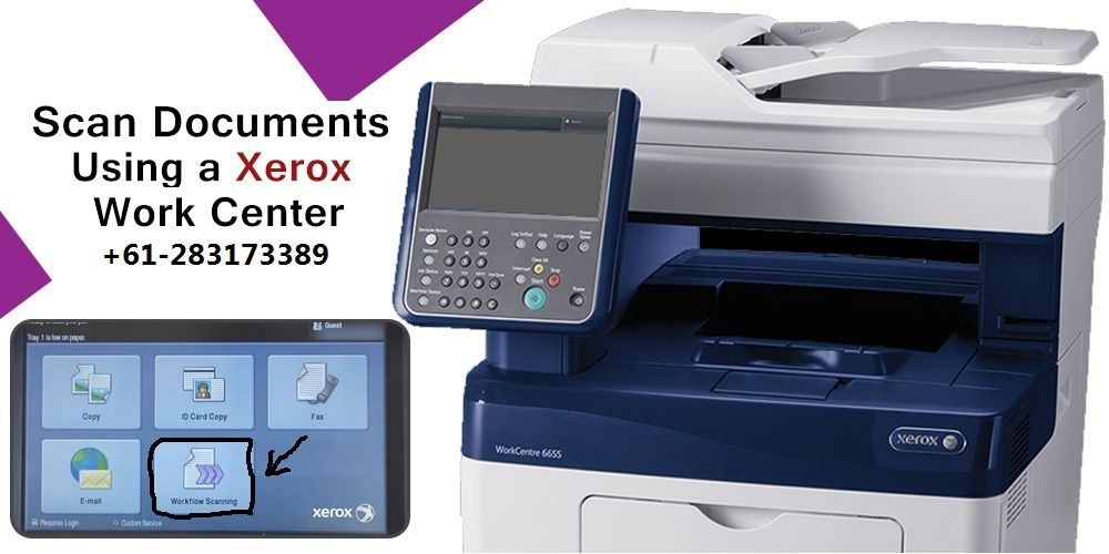 Xerox Printers Come With Numerous Features And Scanning Is One Of