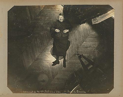 Alphonse Bertillon,Album of Paris Crime Scenes, 1901-08