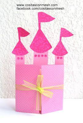 Cómo Hacer Tarjeta De Cumpleaños Inspirado En Princesas