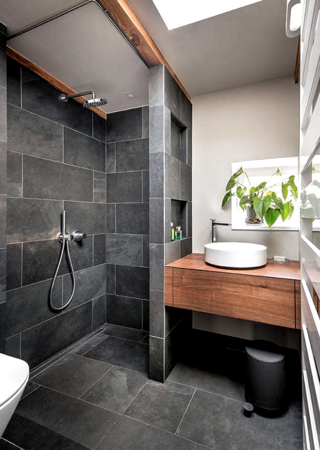 Una de las mayores tendencias de diseño en los cuartos de baño es el uso del color gris en las paredes, combínalos con blanco y color madera. Tendrás un baño súper acogedor, bonito y moderno. Te esperamos en Duchamanía, llámanos: 91 115 01 78. Estamos en #Valencia #Alicante # Asturias, #Cantabria, #Santander y #Madrid #bañostrendy #tendenciasdediseño, #coloresneutros, #diseñoescandinavo #vintagestyle #minimalismo #style #diseñointerior