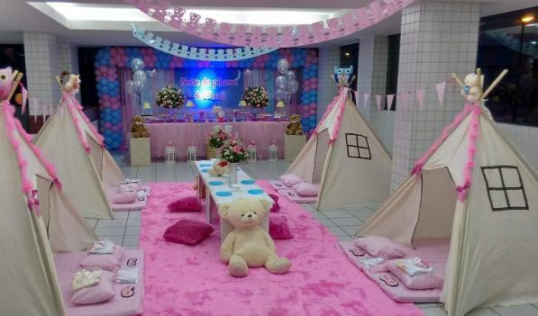 101 Fiestas Decoracion Para Tu Fiesta De Pijama Party Teepee Party Sleepover Party Childrens Party Decorations