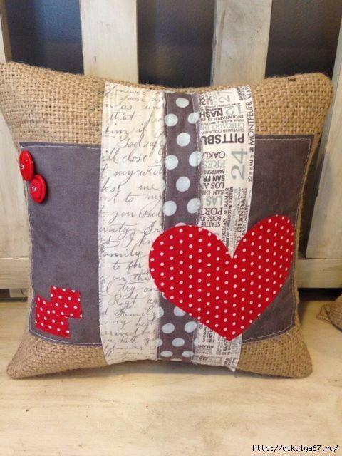Modelos para hacer almohadas decoradas 7 cojines - Cojines de patchwork ...