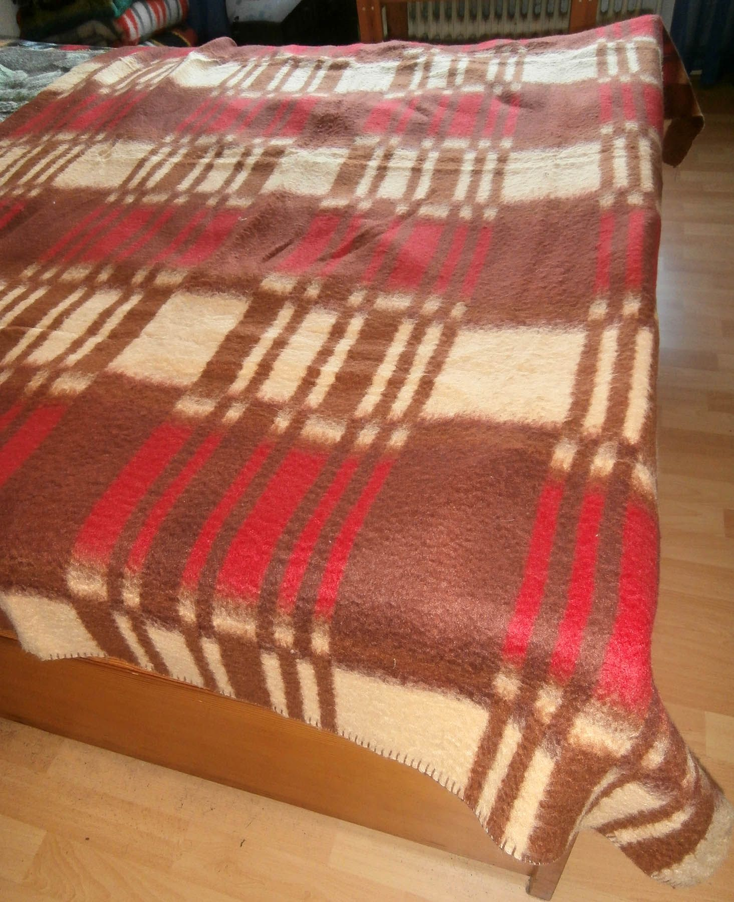 Retro Vintage Blanket Deken Wolldecke 50s 60s Carblanket Blankets Museum New In Our Collection May 2018 Wolldecke Second Hand C A