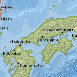 M Km SW Of Ueki Japan GeoLand Pinterest Us And Of - Japan map ueki