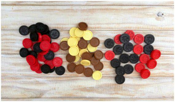 Collection of 82 Vintage Plastic Checkers by JoyousVintage #PlasticCheckers #ElgoCheckers  #Artassemblage #gamepieces #Brown Checkers #BlackAndWhiteCheckers #MixedMediaSupply #VintageGamePieces #AlteredArtProject