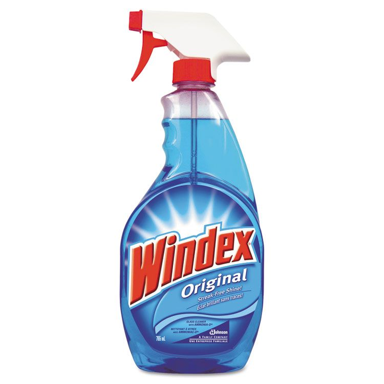 Windex Glass Cleaner With Ammonia D Msds 26 Oz 391804w162 With Images Windex Spray Bottle Glass Cleaner