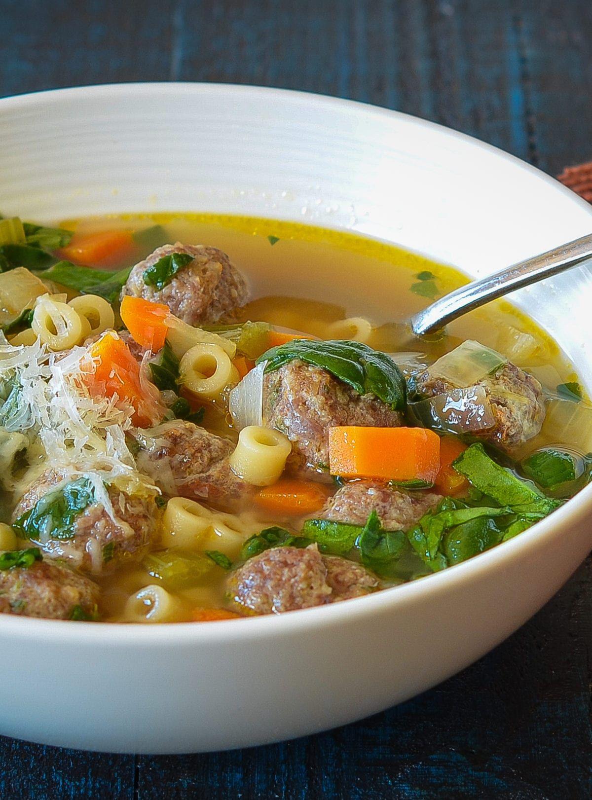 Italian Wedding Soup Italian recipes, Dinner, Italian
