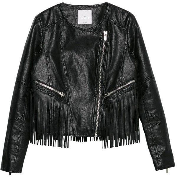 Short black box jacket