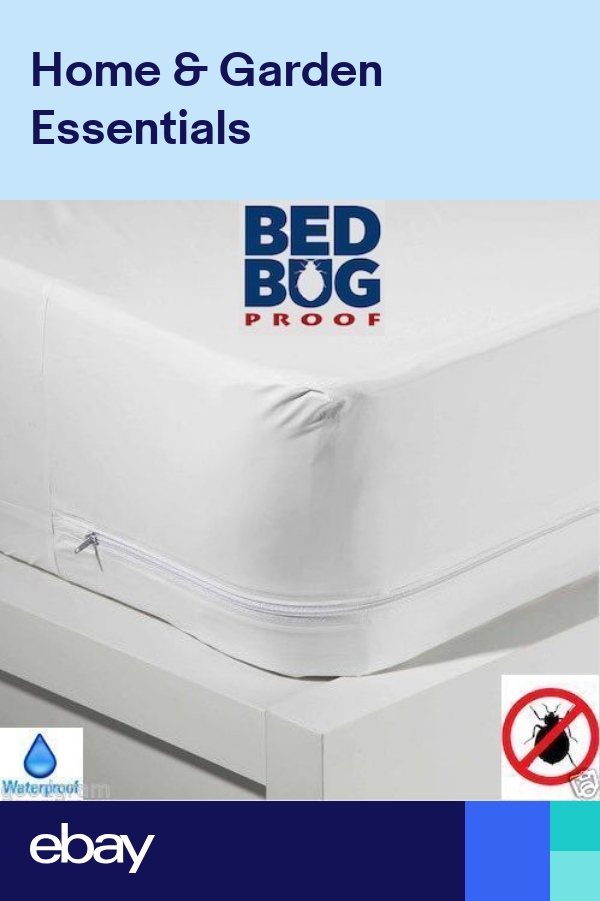 Mattress Box Spring CoverProtector Bed Bug Hypoalergenic