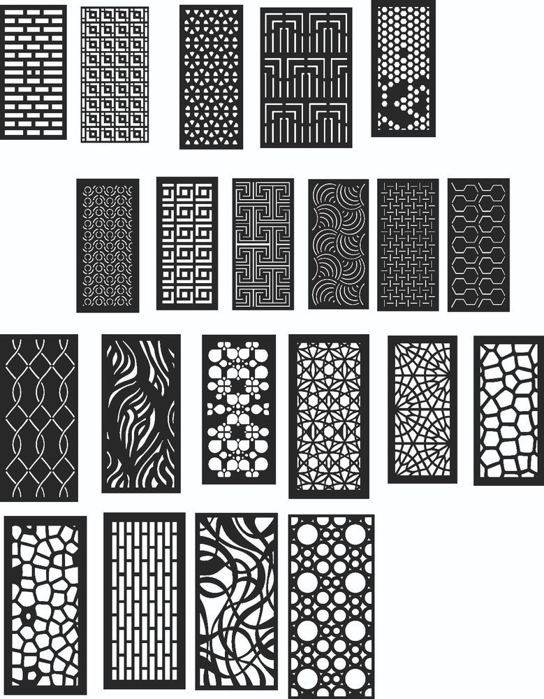 Dxf Of Laser Cut Cnc Vector Dxf Cdr Ai Art File 20
