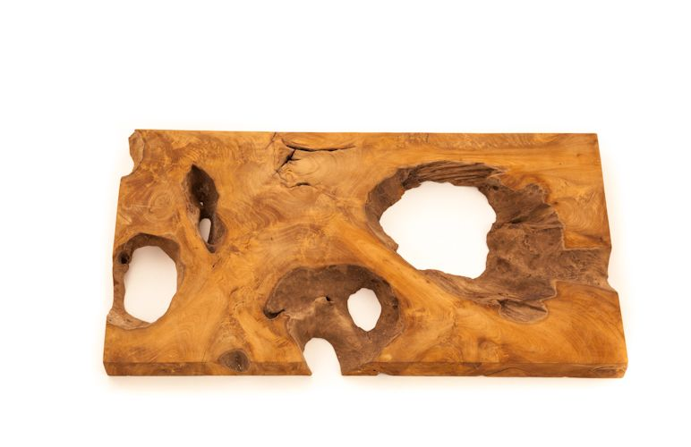 Teak Root Cross Section S Salvaged Teak Root Slab Can Be Used As Wall Decor Or As A Table Top W31 X L16 X Thk2 Sustainable Wood Wall Hanging Decor