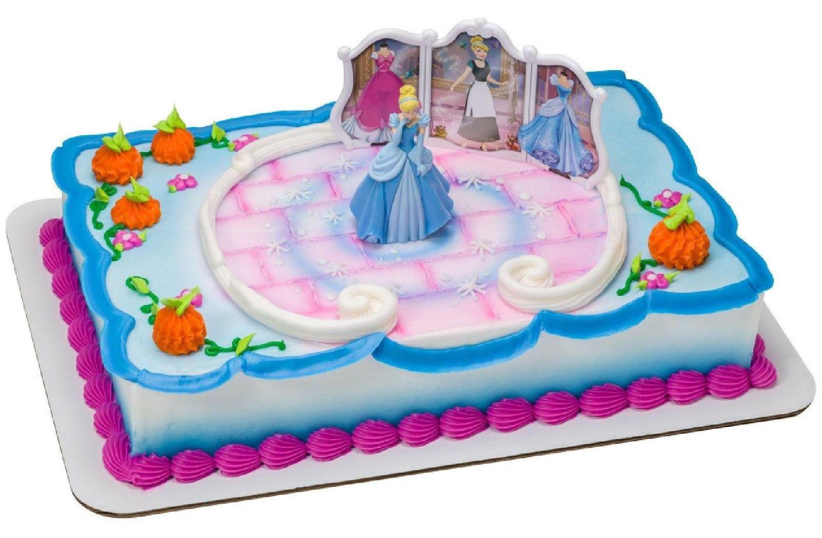 Cool Disney Princess Cinderella Cake Topper Disney Princess Cake Birthday Cards Printable Inklcafe Filternl