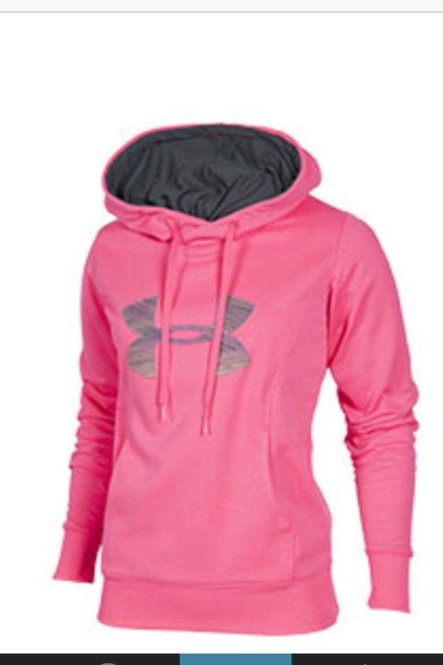 Under Armour Womens Kaleidalogo Pullover Hoodie Gym Fitness Hooded Sweatshirt