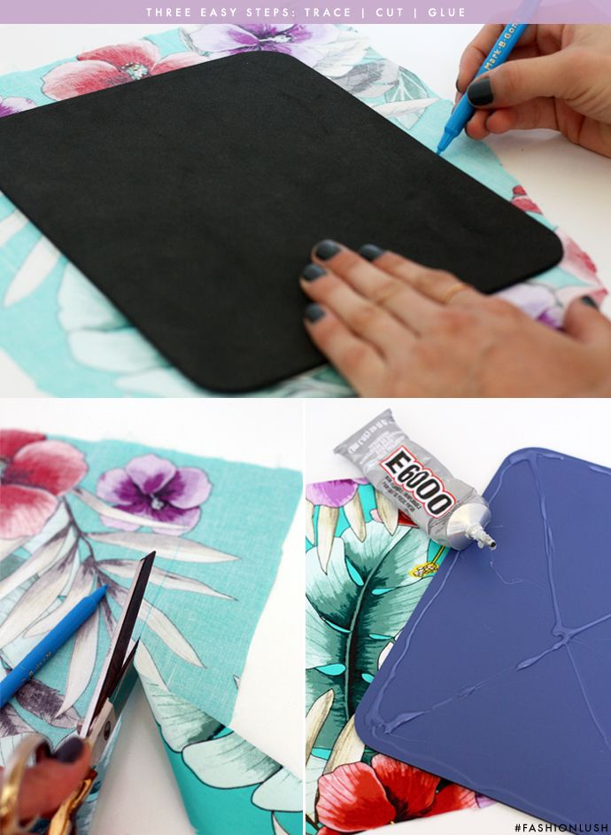 Make your own custom mousepad in just three easy steps | www.fashionlush.com