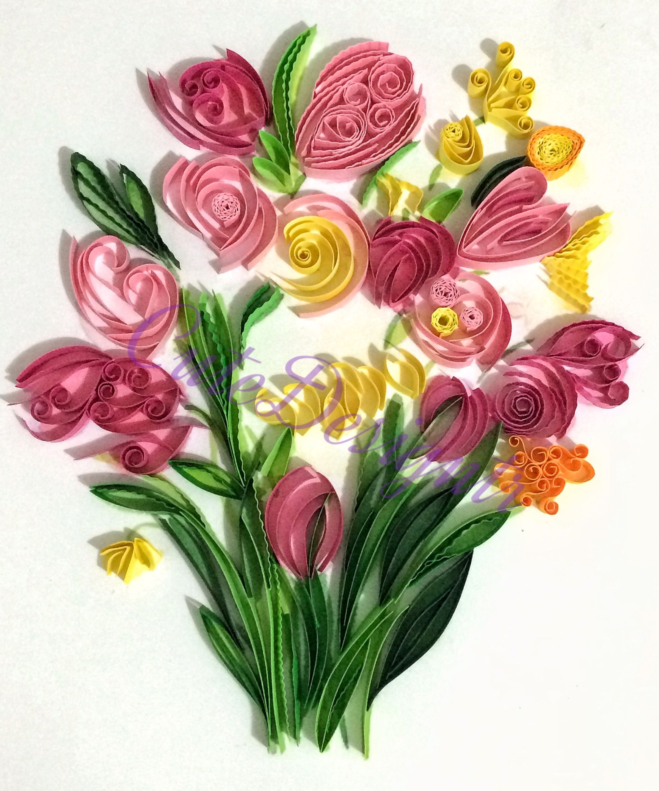 Cutedesigntr Instagram Paperquilling Flower Flowers Pinterest
