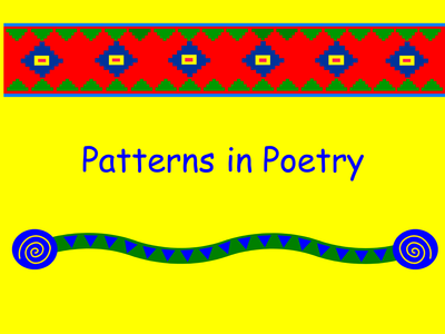 A Free PowerPoint To Introduce Patterns In Poetry Including Pyramid Fascinating What's The Pattern Of A Haiku