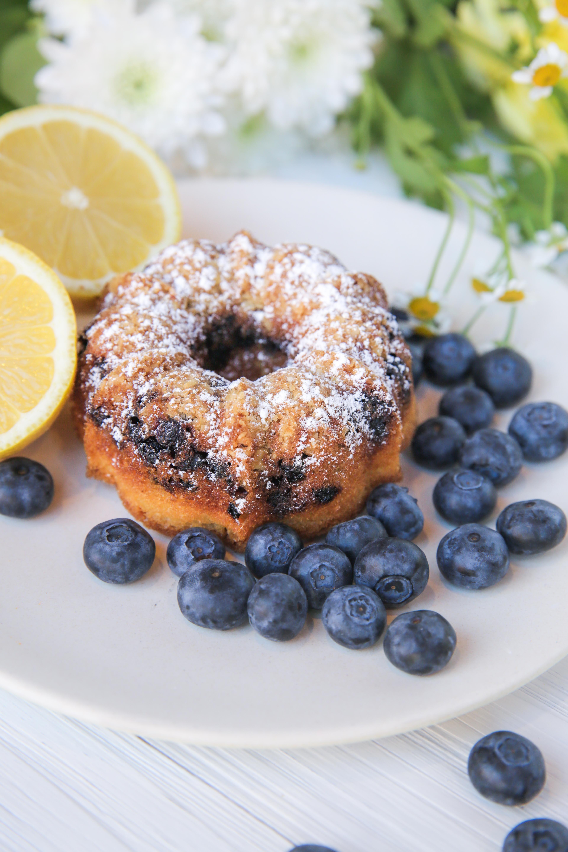 Lemon blueberry bundt cake vegan vegan blueberry