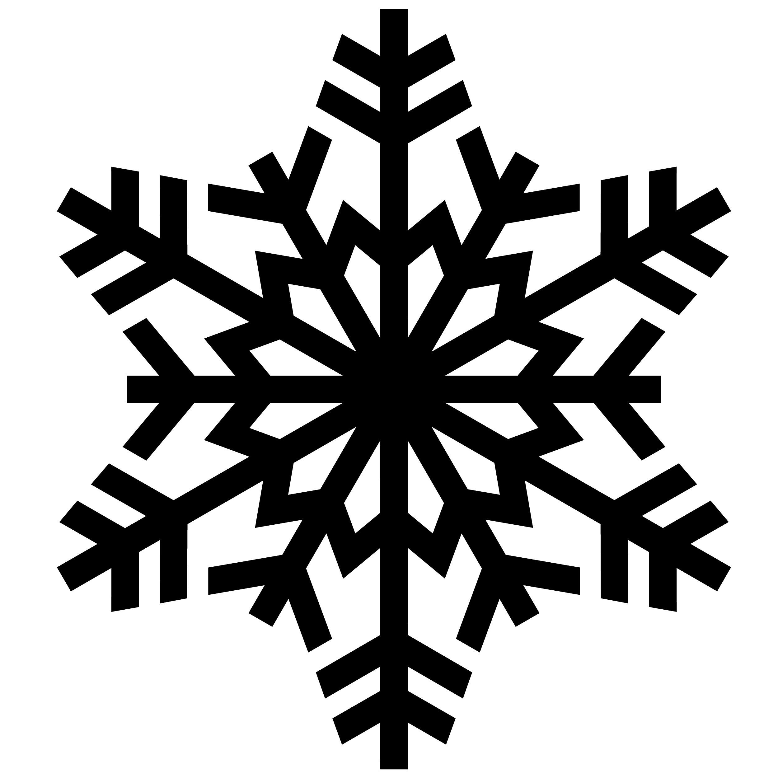 Snowflake Counted Cross Stitch Pattern Christmas Crafts Pdf Digital Instant Download Epattern Ebook Embroide Snowflake Clipart Snowflake Stencil Stencil Crafts