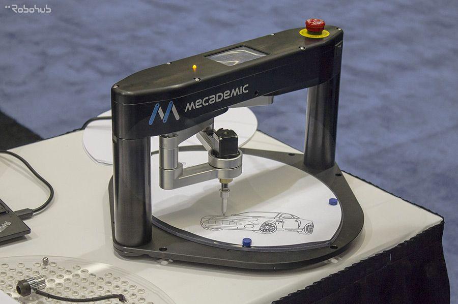 Dual Arm Scara Robot Mecademic Inc Brochure Scara