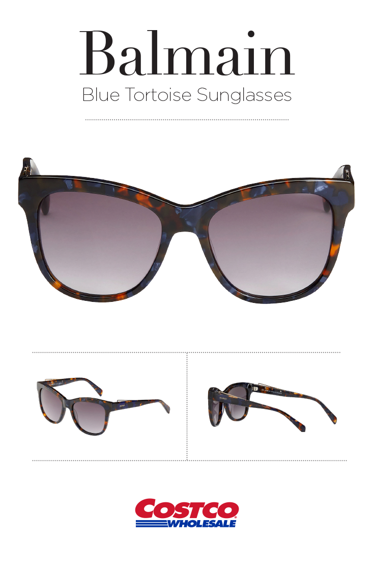 87e7a18087ec9 Balmain BL2111 Blue Tortoise Sunglasses