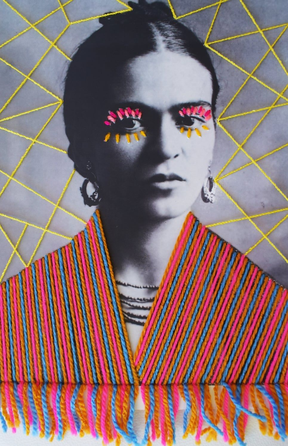 Embroidered cultural heroes – in pictures #albumart