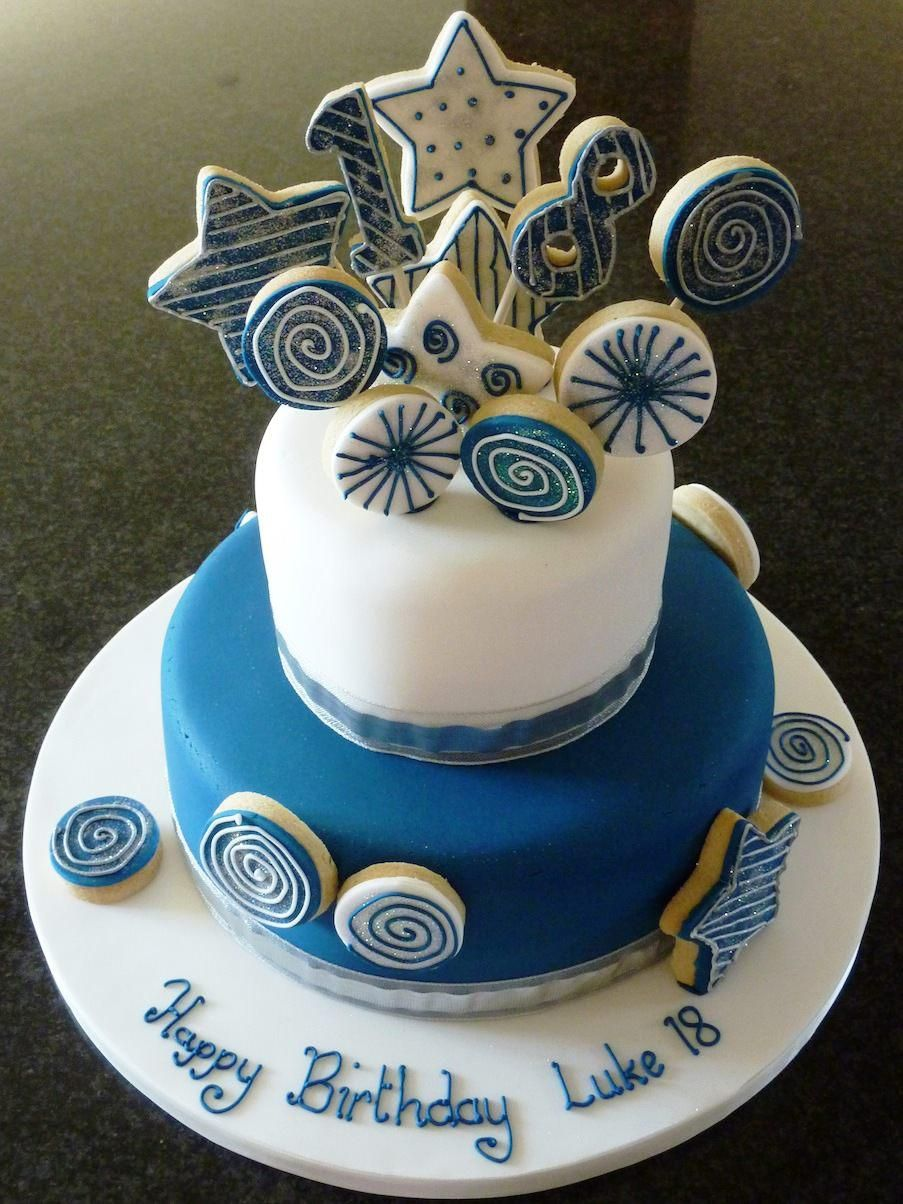 18th birthday cake ideas torturi pinterest 18th for 18th cake decoration
