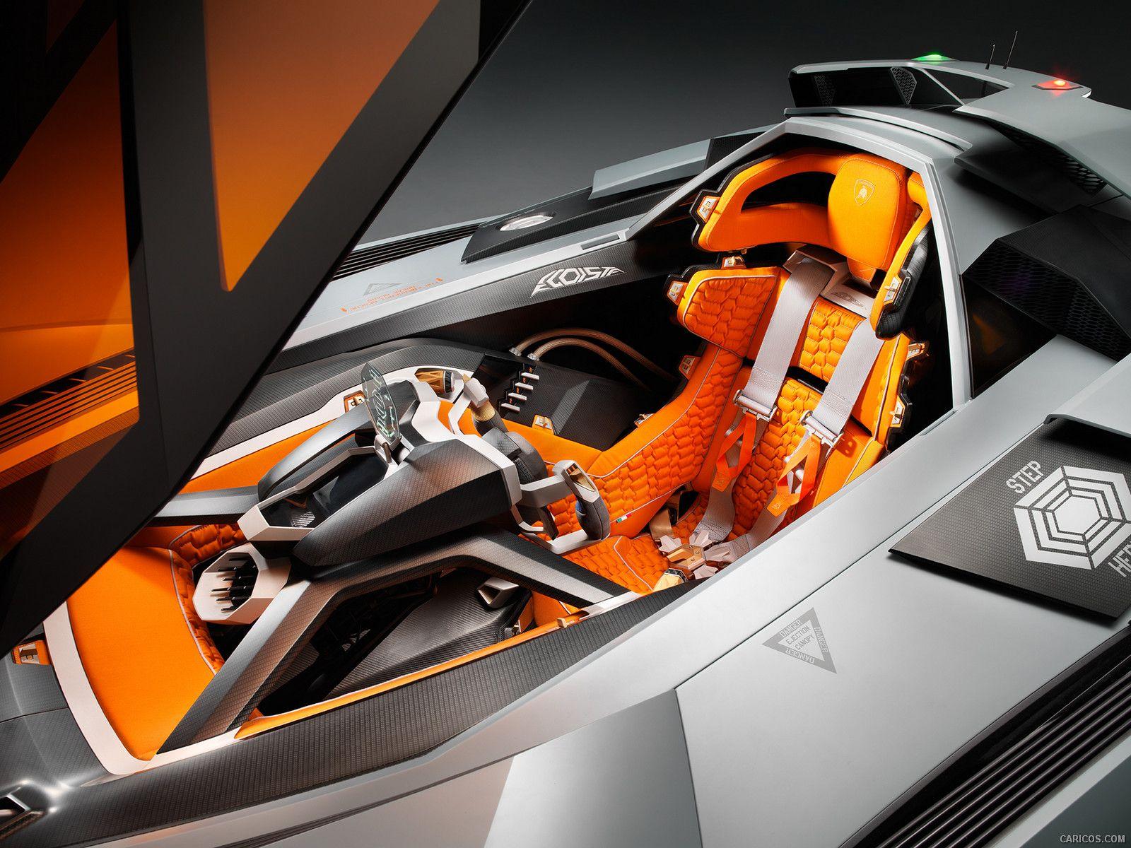 2013 Lamborghini Egoista Concept  - Interior,