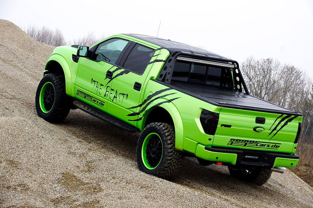 Ford Raptor Pickup Geiger Cars The Beast