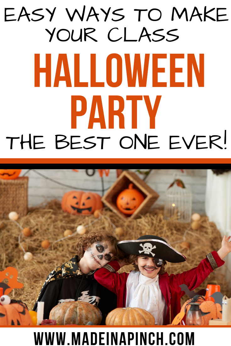 How to plan the best party with halloween classroom activities