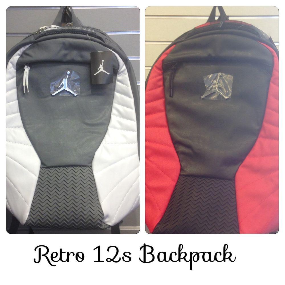 3b576bc531 AIR JORDAN RETRO 12 FLU GAME WOLF GREY UNC Backpack LAPTOP SLEEVE  Nike   Backpack