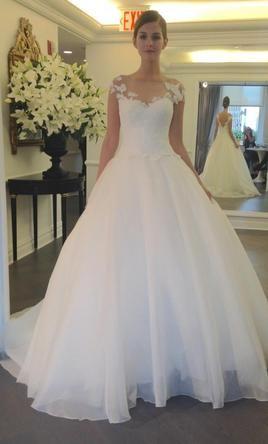 Romona Keveza L5134, $710 Size: 10 | Sample Wedding Dresses