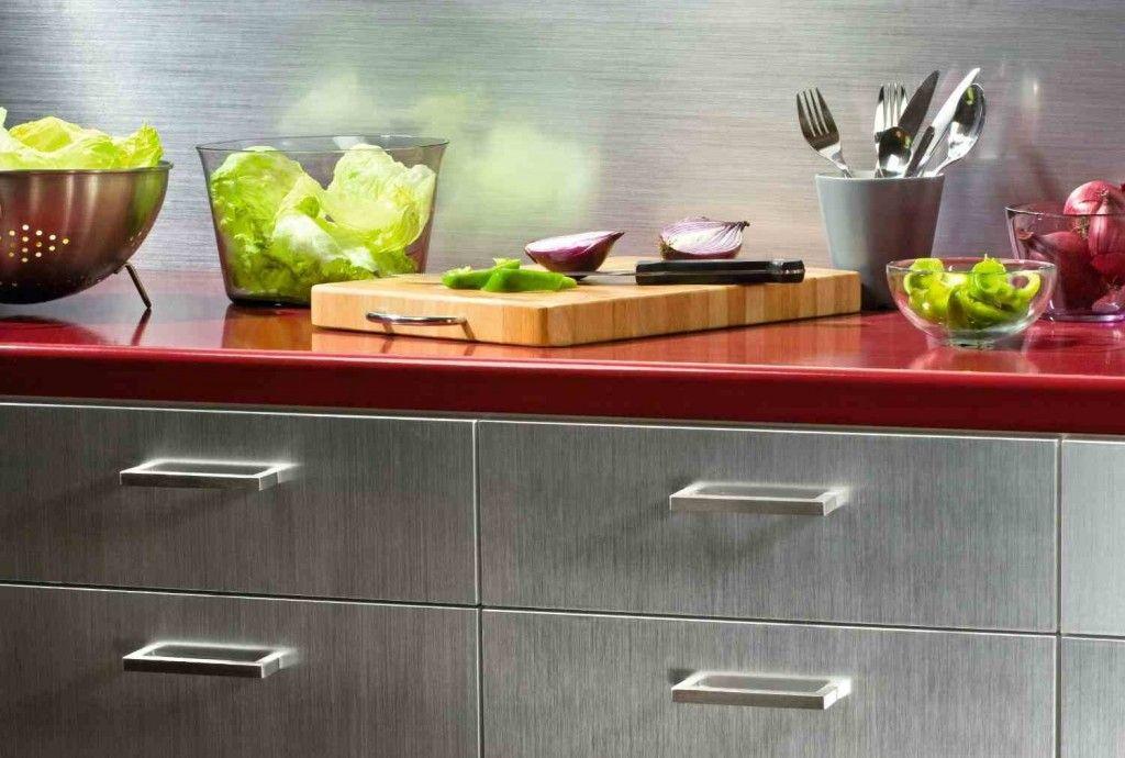 5 Diy Stainless Steel Kitchen Makeovers On The Cheap Mit Bildern Dc Fix Kuche Klebefolie
