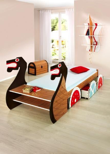 Viking Baby Bedroom: Viking Bed ! I Saw A Vintage Viking Boat Hand Forged Iron