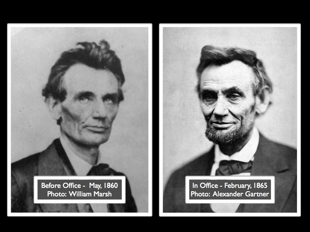 The Before And After Of Abraham Lincoln