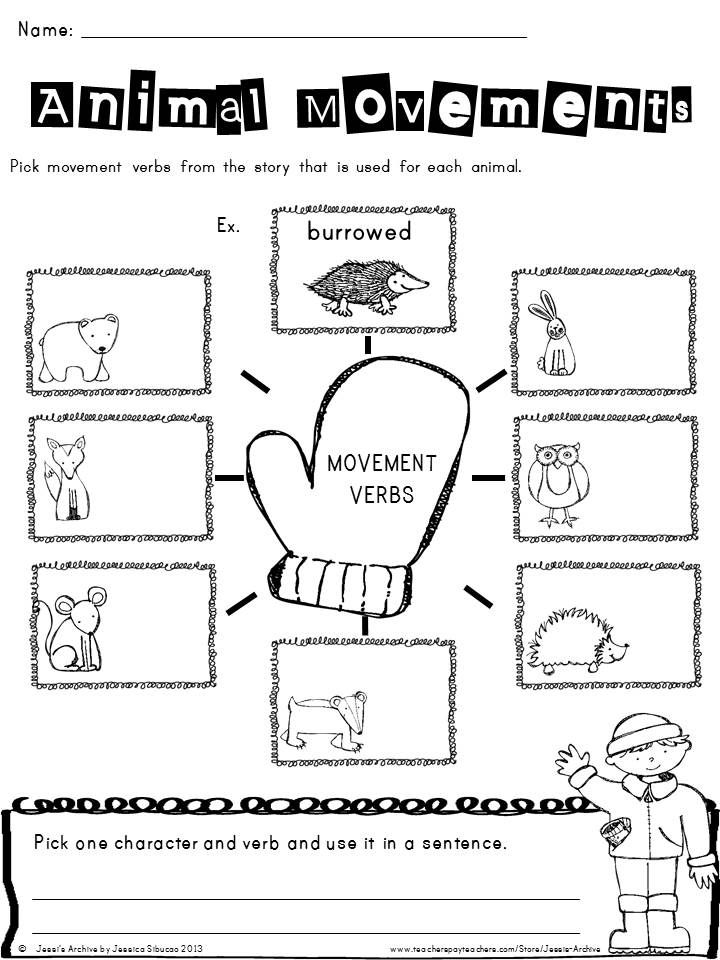 Mitten 43 Pages Extend The Fun Of The Mitten Story By Jan Brett Through These Creative And Engaging Mitten Literacy Activities The Mitten Book Activities