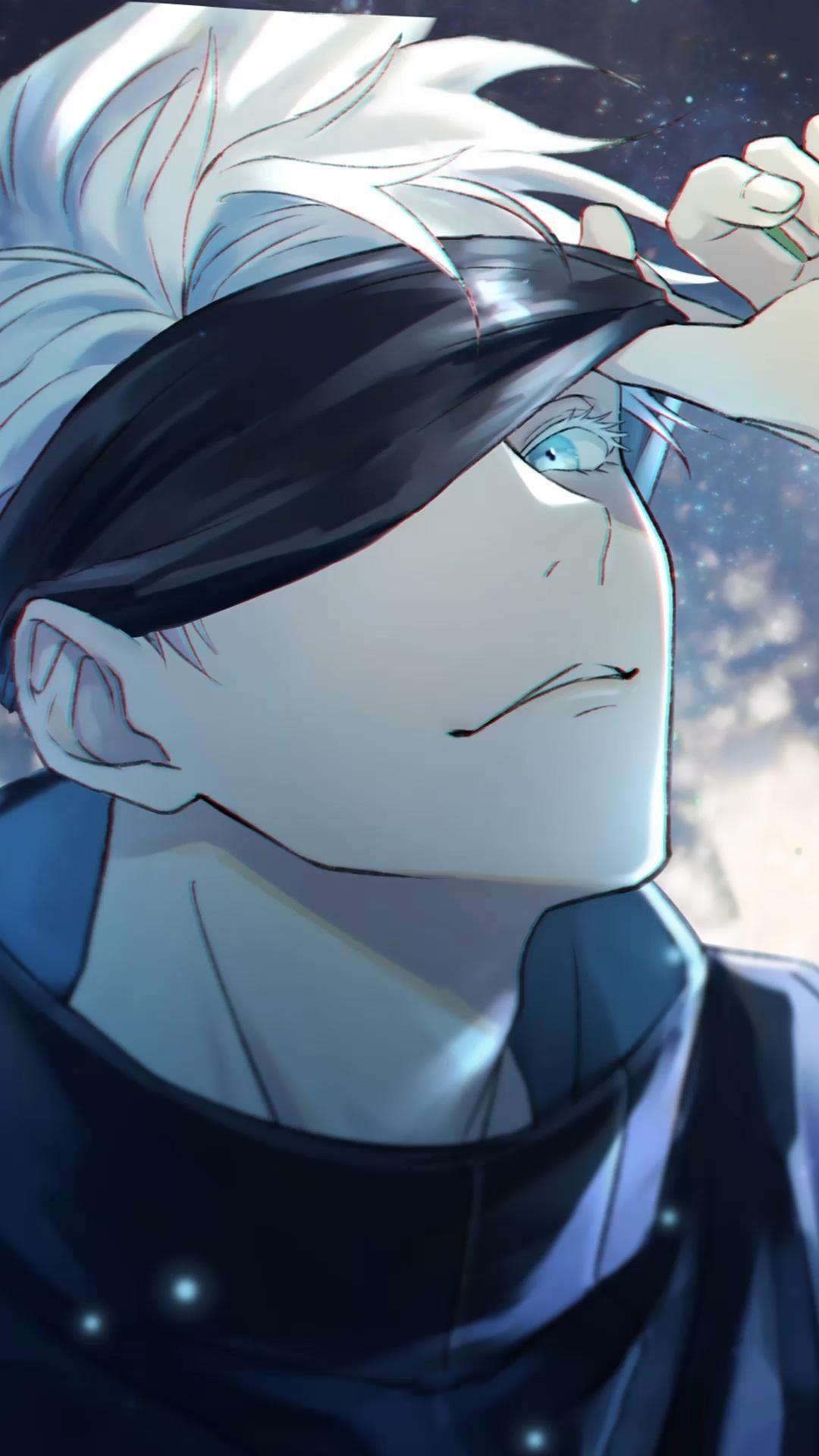 Jujutsu Kaisen Gojo Satoru Live Wallpaper Video Em 2021 Fantasia Anime Wallpaper Animes Personagens De Anime