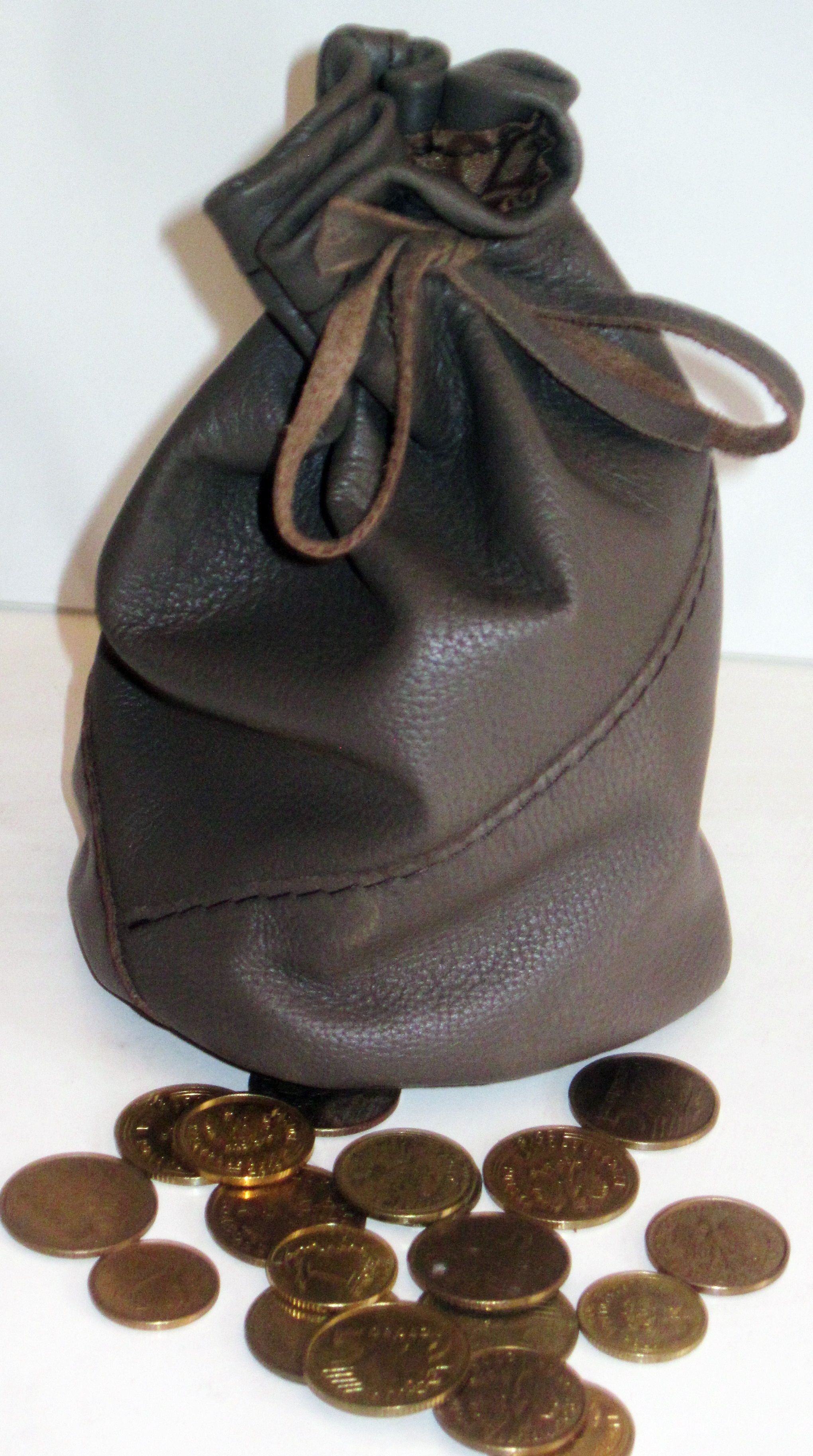 Sakiewka Mieszek Portfel Na Monety Skora Naturalna 8336960134 Oficjalne Archiwum Allegro Bucket Bag Bags Items