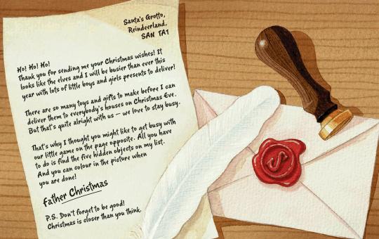 Free letter from santa santa letters pinterest santa and free free letter from santa the royal mail spiritdancerdesigns Images