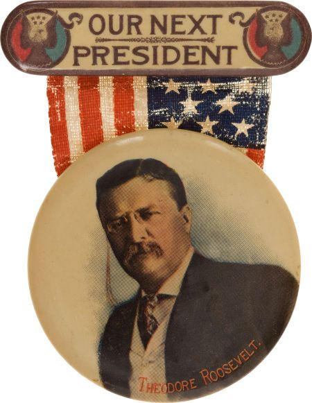 Presidential Campaign Pin Back Button Mario Cuomo 1992 President Political Badge