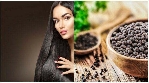 Supplement for Hair Growth} and black pepper for hair growth