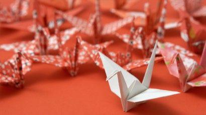 Photo of Origami, der im Video faltet: der Kran