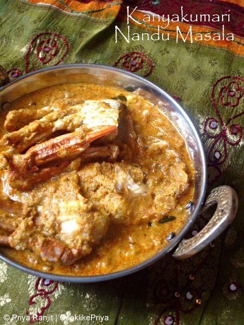 Cook like priya kanyakumari nandu masala crab masala south indian cook like priya kanyakumari nandu masala crab masala south indian recipe seafood indian recipes my 200th post forumfinder Choice Image