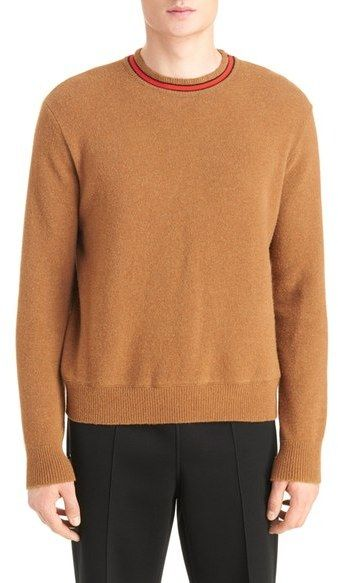 Givenchy Stripe Collar Wool Sweater