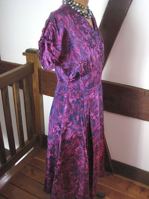 1950s Purple Taffeta Party by AliceBlueGownVintage on Etsy