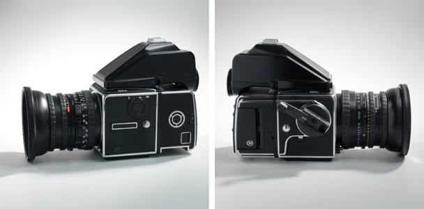 Hasselblad 503cw with 4/40mm CFE Lens, CFV back and PME90